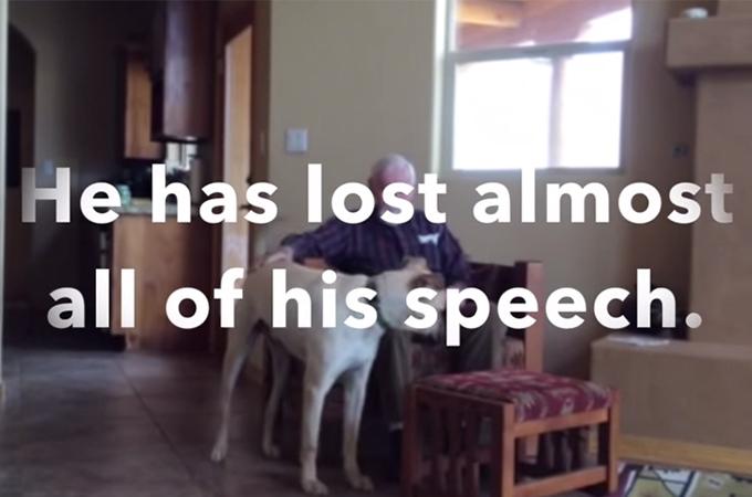 認知症になり言葉を失った父、娘の愛犬と触れ合い起きた奇跡に涙する