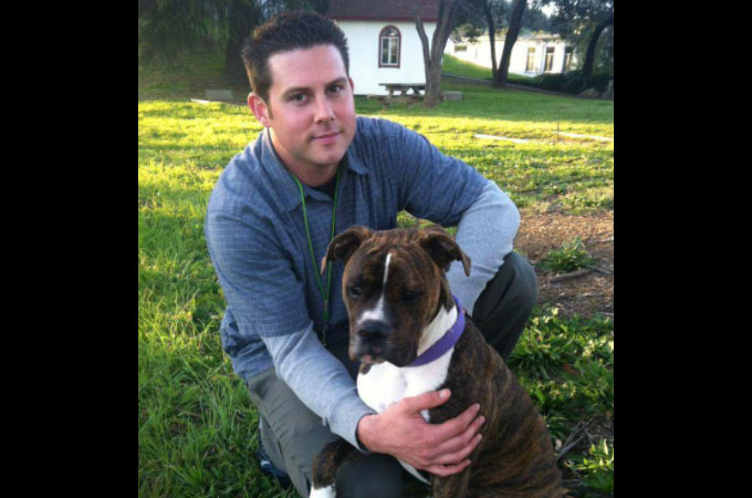 愛する飼い主さんに「さよなら」を言うため病院を訪れた犬のモリー