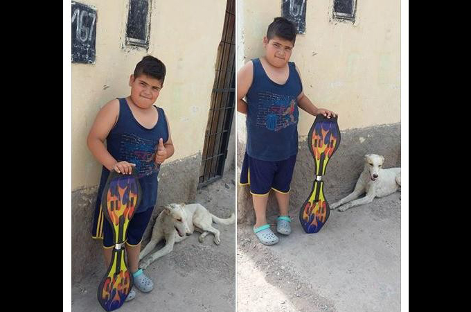 怪我をした子犬を保護した少年。治療させてあげたいけどお金がない少年のとった行動に世界が動く