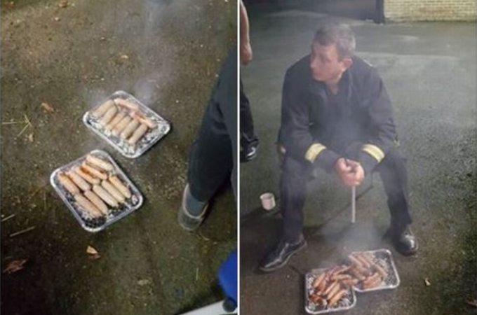 消防士がFacebookに投稿したバーベキューの画像に「恥を知れ」「本当にヒドい」など非難が殺到。その理由とは!