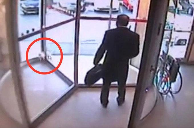 回転ドアに挟まれ心肺停止となった猫 医師のとっさの処置が奇跡を起こす