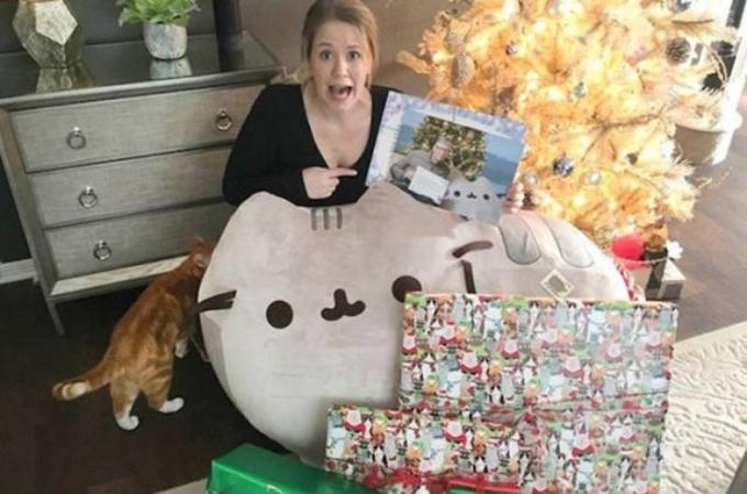 猫好きの女性の元に届いた素敵なクリスマスプレゼント。そのプレゼントを届けたサンタは「ビル・ゲイツ」だった!